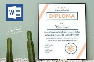 Science School Diploma DOC
