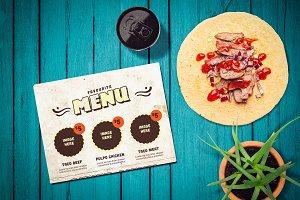 Mexican Restaurant Mock-up #10