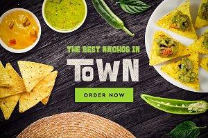 Mexican Restaurant Mock-up #2