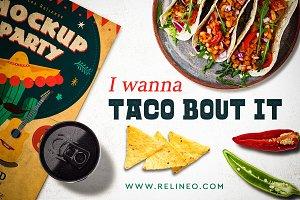 Mexican Restaurant Mock-up #4