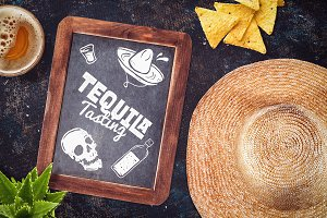 Mexican Restaurant Mock-up #5