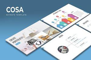 Cosa - Keynote Template