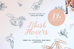Blush Flowers Collection