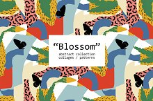 """Blossom"" Abstract Collection by  in Patterns"