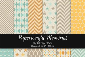 Patterned Paper - Harvest Field