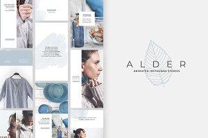 Alder Animated Instagram Stories