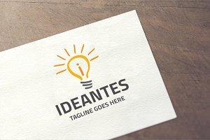 Ideantes - letter i Logo