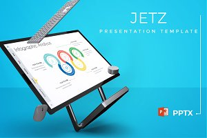 Jetz - Powerpoint Template