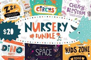 Nursery Bundle. 77% OFF