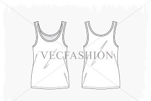 Woman Fitness Sport Tank Top