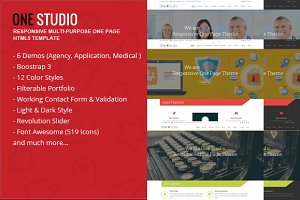 OneStudio - Responsive Multi-Purpose