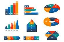 Charts, diagrams and graphs
