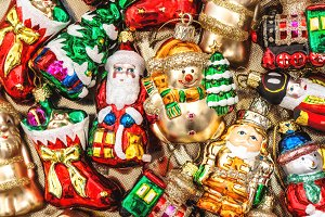 Christmas tree decorations ornaments