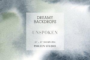 Dreamy Digital Backdrops - Unspoken