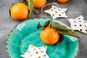 Tangerines - oranges, mandarins