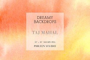 Dreamy Digital Backdrops - Taj Mahal