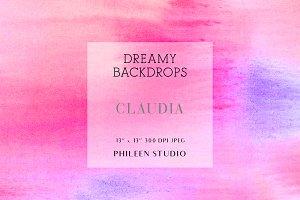 Dreamy Digital Backdrops - Claudia