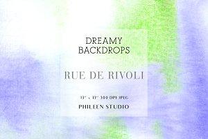Dreamy Digital Backdrops - Rue De Ri