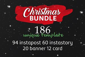 Christmas Instagram & Card Bundle