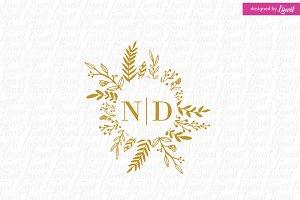 Modern Wedding Logo