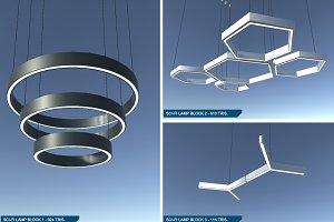 Sci-Fi Lamps Set 1