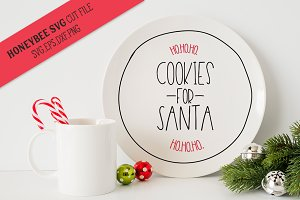 Cookies For Santa's Plate