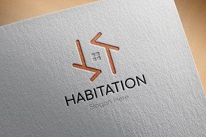 Habitation Logo Template