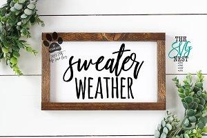Sweater Weather Cutting Files