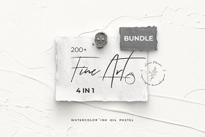 -50% FINE ART BUNDLE design sets