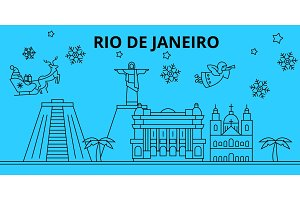 Brazil, Rio De Janeiro winter