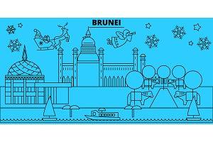 Brunei, Brunei winter holidays