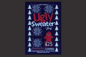 Ugly Sweater Christmas Flyer
