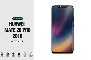 Huawei Mate 20 Pro App Mockup