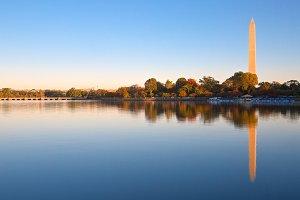 Autumn Washington DC Sunrise