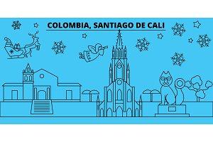 Colombia, Santiago de Cali winter