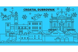 Croatia, Dubrovnik winter holidays