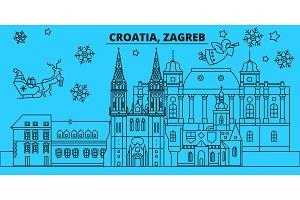 Croatia, Zagreb winter holidays