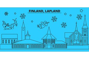 Finland, Lapland winter holidays