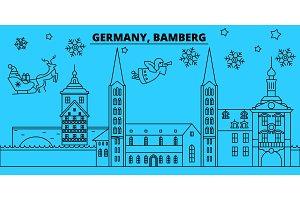 Germany, Bamberg winter holidays