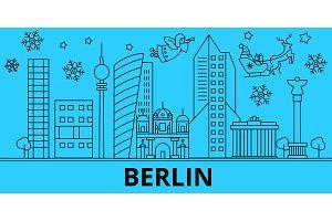 Germany, Berlin winter holidays