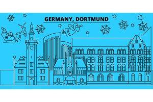 Germany, Dortmund winter holidays