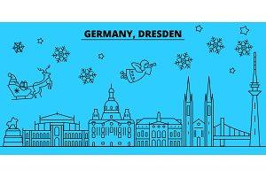 Germany, Dresden winter holidays