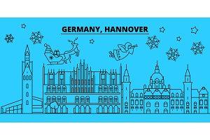 Germany, Hanover winter holidays