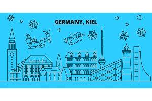 Germany, Kiel winter holidays