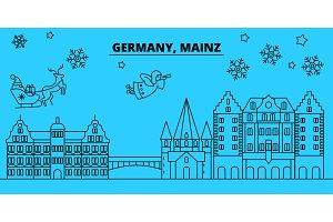 Germany, Mainz winter holidays
