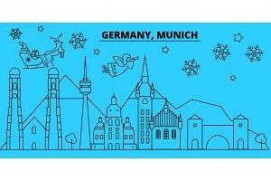 Germany, Munchen winter holidays