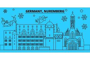 Germany, Nuremberg winter holidays