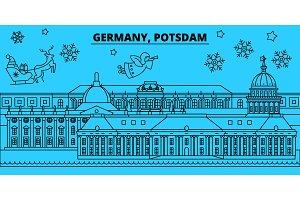 Germany, Potsdam winter holidays