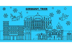 Germany, Trier winter holidays