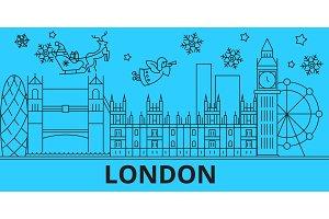Great Britain, London winter